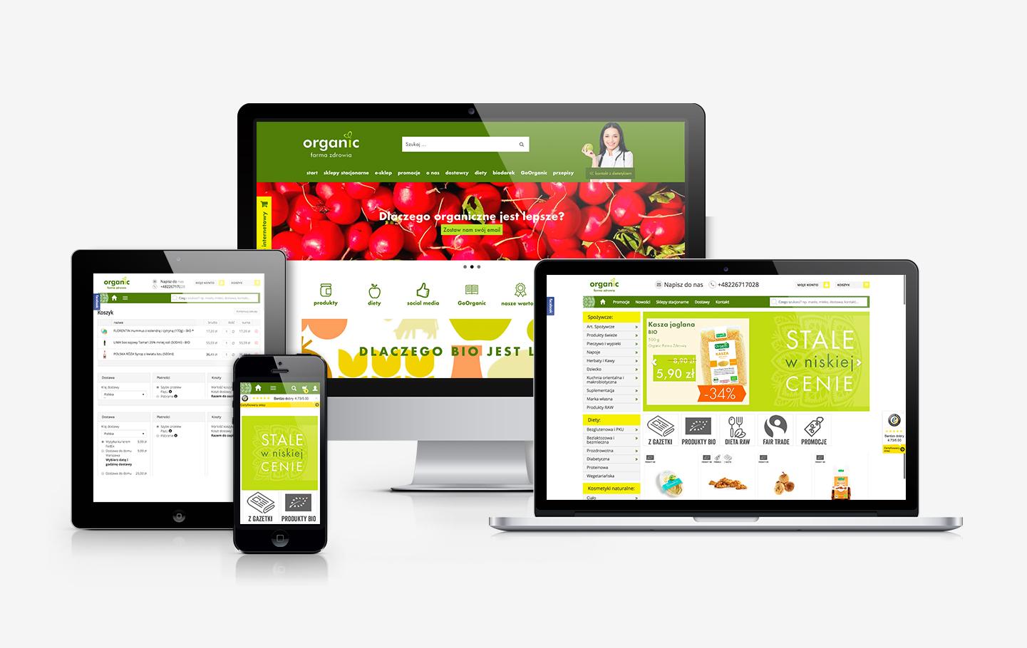 Convertis - Realizacje - Organicmarket.pl