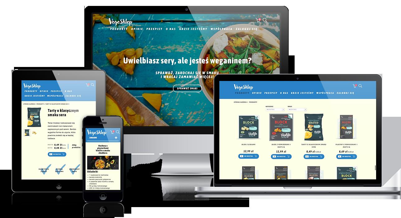 Convertis - Realizacje - Realizacja sklepu internetowego – VegeSklep.pl
