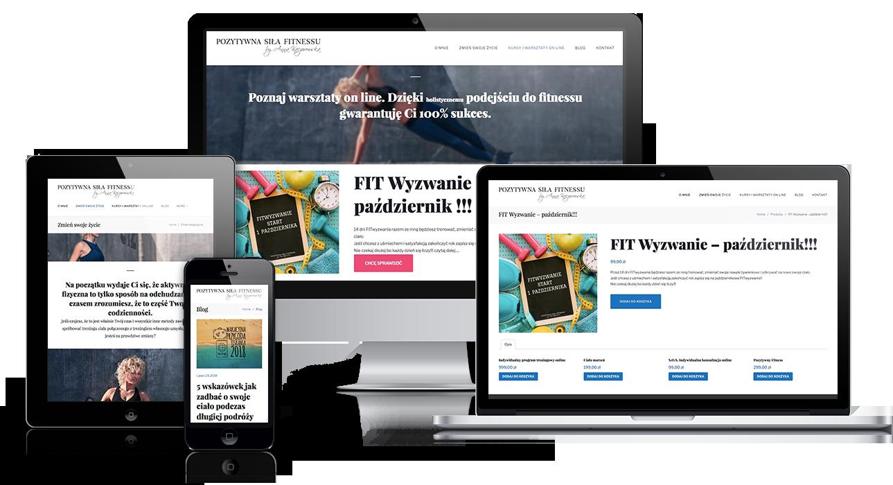 Convertis - Realizacje - PozytywnaSilaFitnessu.pl