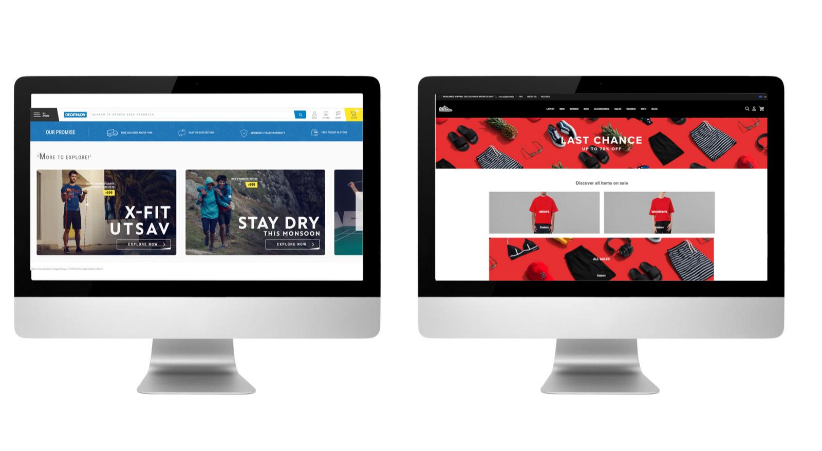 Przykłady dużych sklepów internetowych na PrestaShop