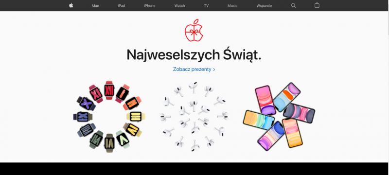 Design - sklepy internetowe i minimalizm pełen kolorów - apple
