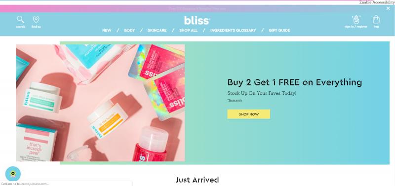 Design - sklepy internetowe i minimalizm pełen kolorów - blissworld.com